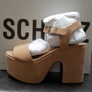 Heel platform sandals